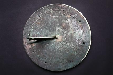 Horizontal sundial, 1551.