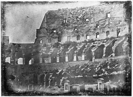 'Rome, Interior of Coloseum', 1841.