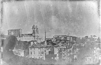 'Rome, Trinita de'Monti and the Quirrinal f