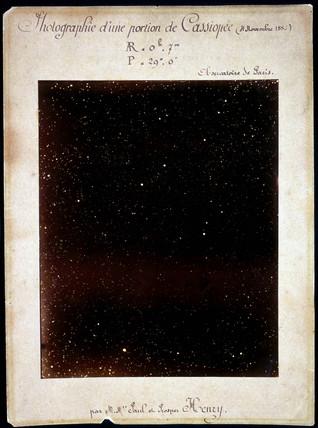 Stars in Casiopeia, November 1883.