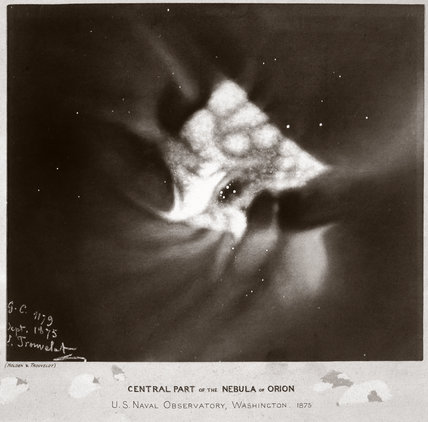 'Central Part of the Nebula of Orion', 1875.