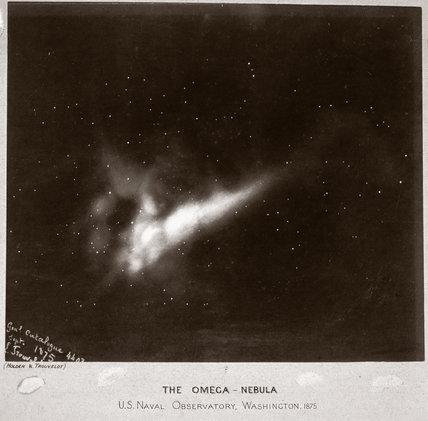 'The Omega Nebula', 1875.