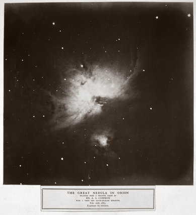 'The Great Nebula of Orion', 26 February 1883.