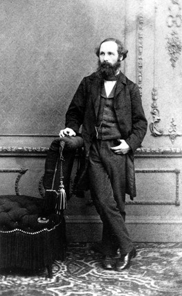 James Clerk Maxwell, Scottish physicist, c 1860s.