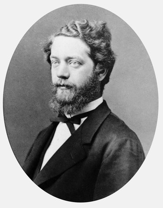 Christian Felix Klein, German mathematician, c 1880.