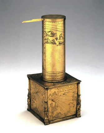 Column sundial, German, c 1550.