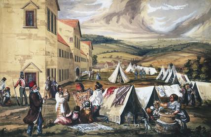 Scutari Hospital, Turkey, 1857.