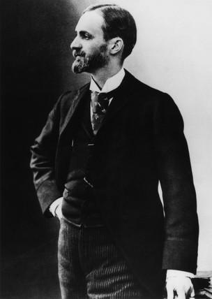George Eastman, American inventor and philanthropist, c 1900.