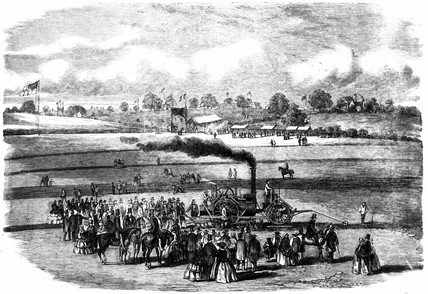 James Boydell's steam horse, 1857.