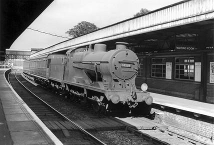 British Railways Q clas locomotive at