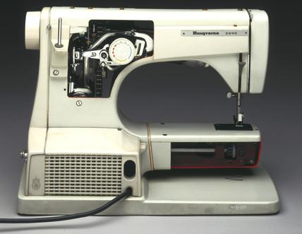 Viking Husqvarna 8010 sewing machine, 1960s.