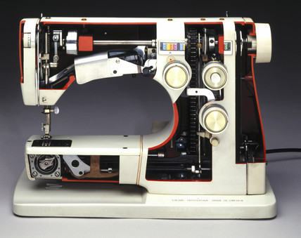 Viking Husqvarna 8010 sewing machine, 1960s.