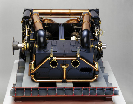 Engines for HMS 'Northumberland', 1868 and HMS 'Minotaur', 1867.