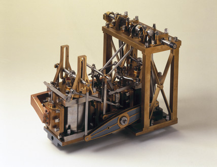 Side-lever engine, c 1845.