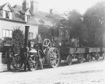 Aveling and Porter steam traction engine, 1890s (Science Museum / Science & Society)