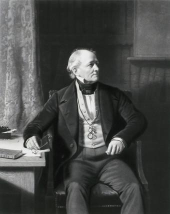 Sir Francis Beaufort, c 1850.