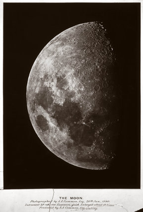 The gibbous Moon, 1880.