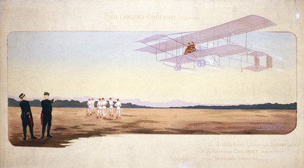 Chalons-Vincennes Air Race, France, 9th June 1910.