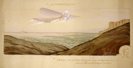 The first cros-Channel pasenger flight, 17 August 1910.