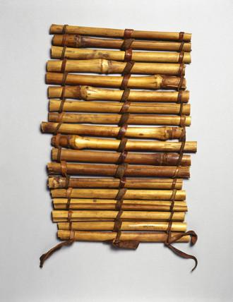 Cane splint, Nigerian, c 1871-1908.