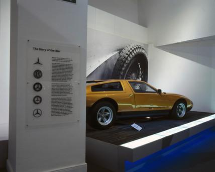 Mercedes-Benz (MB) C111 concept car, 1970.