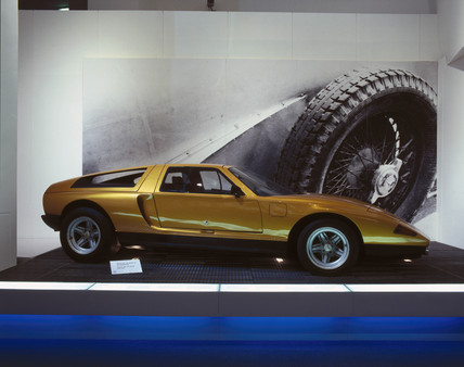 Mercedes-Benz (MB) C111 concept car, 1970.