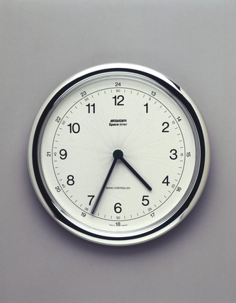 Staiger 'Space Timer' radio-controlled wall clock, 1998.