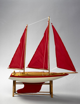 Model yacht, 1998.