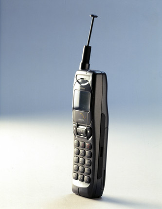 Kyocera 'Iridium' mobile phone, c 1998.