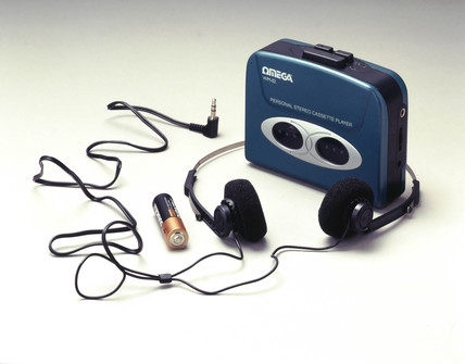 Omega personal stereo casette player, c 1998.