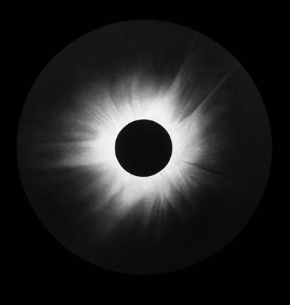 Solar eclipse, 1905.