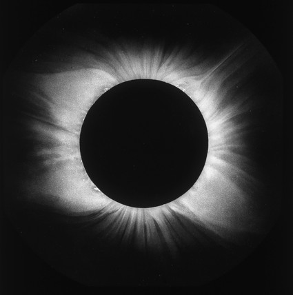 Solar eclipse, 1898.
