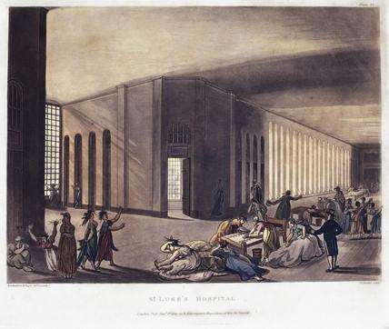 St Luke's Hospital, London, 1809.