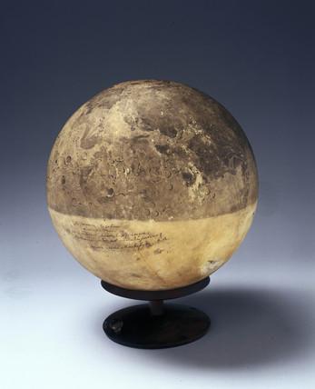Rusell's lunar globe, 1792-1797.