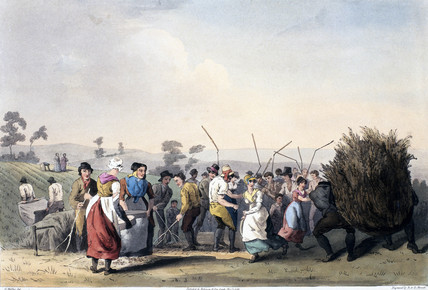 'Rape Threshing', 1813.