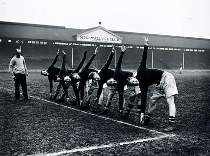 Millwall Football Club, London, 10 January 1938.