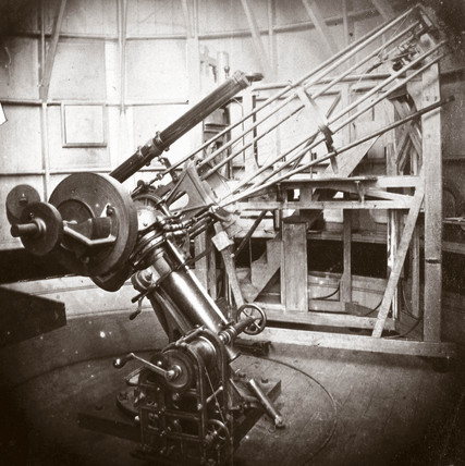 Warren de la Rue's 13 inch reflecting telescope, 1858-1864.