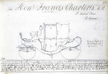 Francis Charteris' carriage, c 1810-1873.