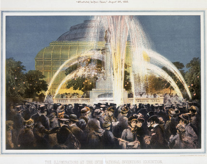 'The Illuminations at the International Inventions Exhibition', London, 1885.