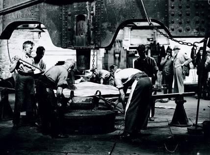 Copper works, Swansea, 17 July 1931.