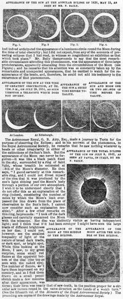 Solar eclipse, 1836.