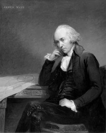 James Watt, Scottish engineer, c 1792.