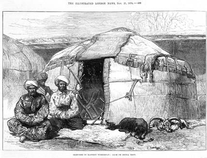 'Akoe or Extra Tent', Turkestan, 1874.