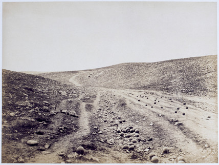 The Valley of the Shadow of Death, 1855.