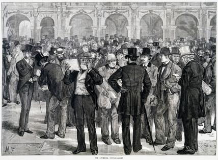 Liverpool Cotton Market, 1874.
