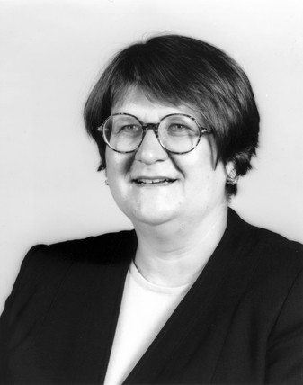 Hazel Newey, Head of Conservation at the Science Museum, 1997.