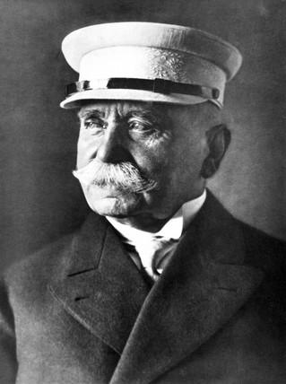 Count Ferdinard von Zeppelin, German airship designer, c 1910.