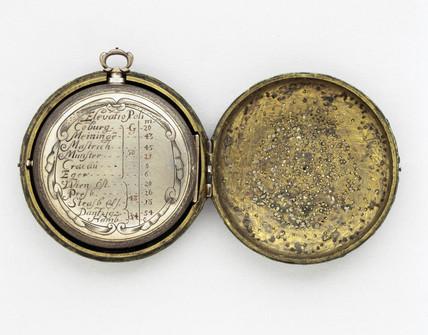 Equinoctial sundial, 1694.