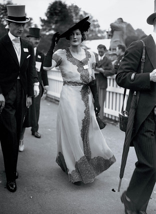 Fashions at the Royal Ascot Races, 15 June 1938.