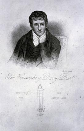 Sir Humphry Davy, chemist, 1822.